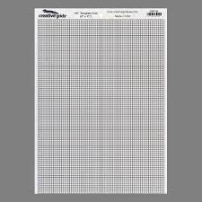"Creative grids, Template Plastic 1/8"" Quilte linjal"
